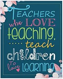 teacher inspirational quote image